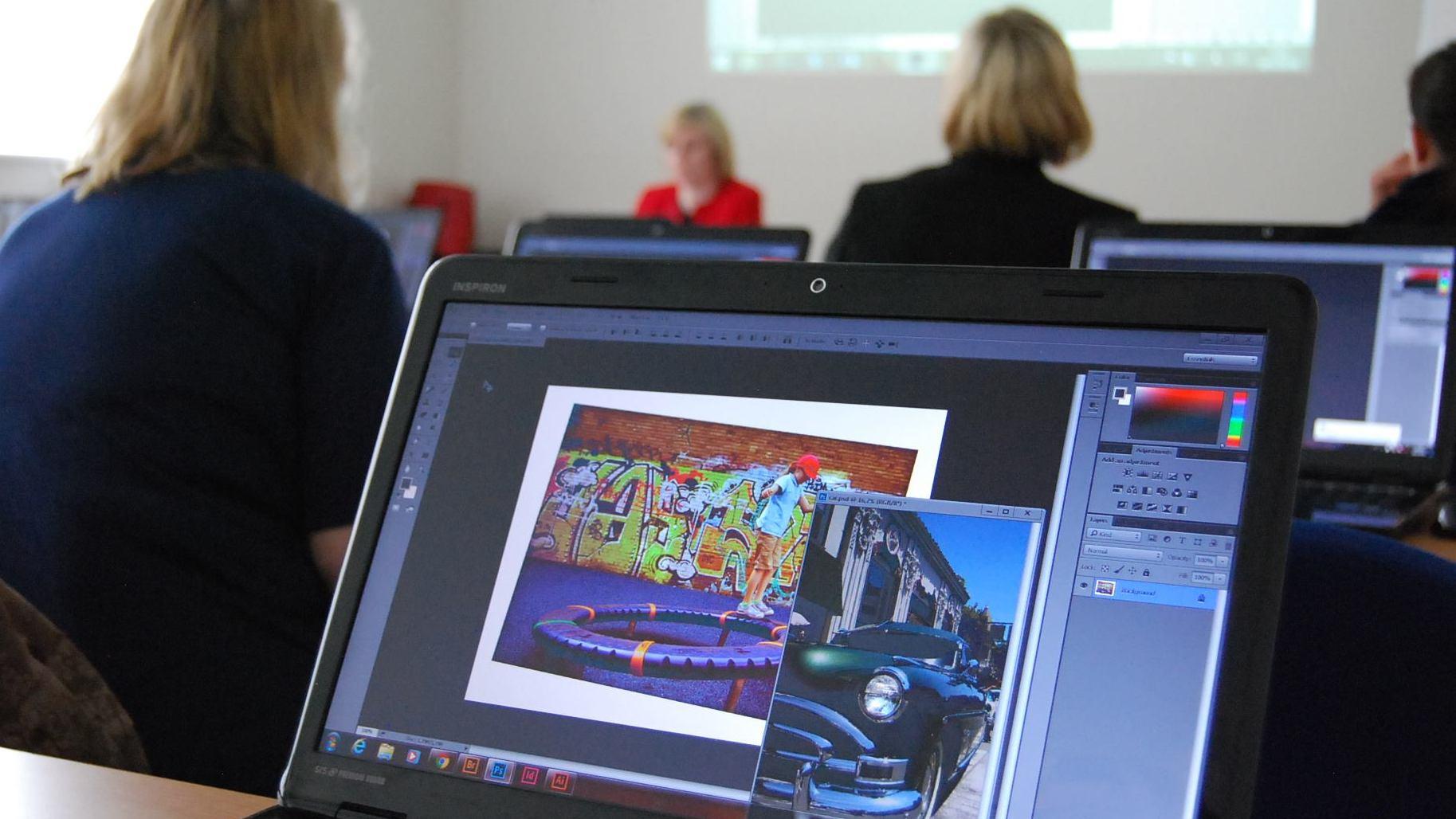 Adobe Photoshop – taškinės grafikos kūrimas (Basic)