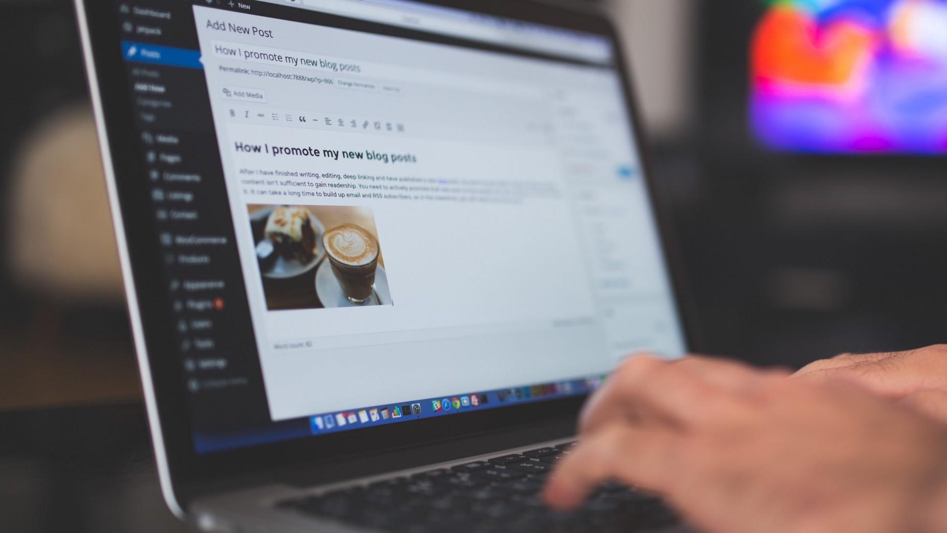 Svetainių kūrimas su WordPress